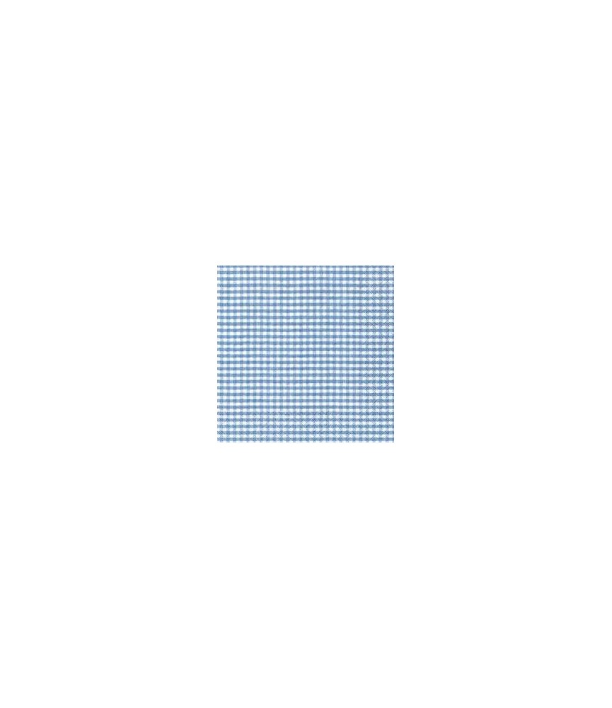 Servilleta vichy colores 33x33 cm