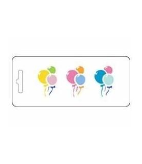 Comprar Plantilla stencil acetato globos de Conideade