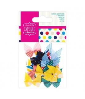Pack de 20 lazos mod Spots&Stripes Brights