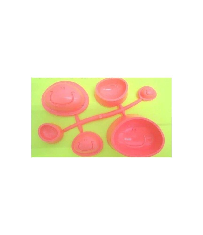 Molde Termoformadocara fofucha 3 tamaños