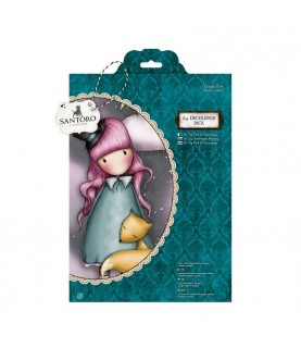Pack A4 Decoupage gorjuss - The Dreamer