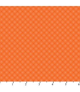 Comprar Tela harmony II rombos naranja de Conideade