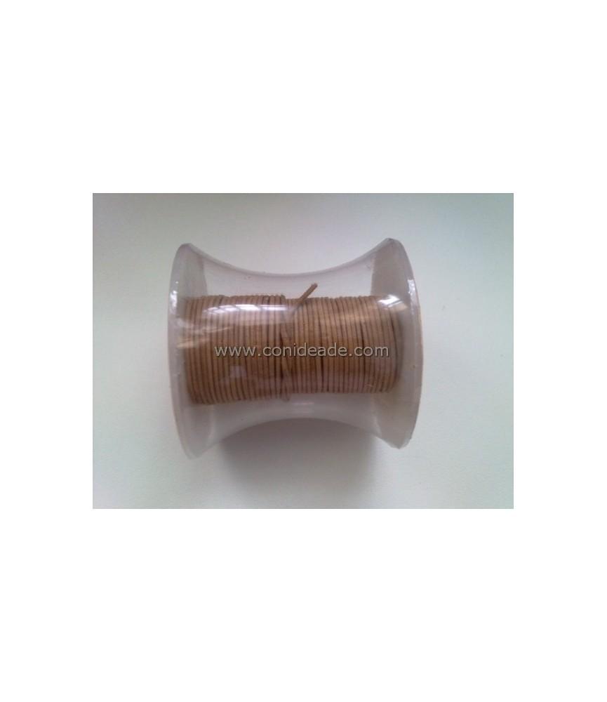 Cordón de cuero de 1 mm varios colores