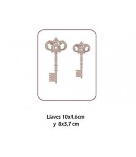 Set de 2 llaves antiguas