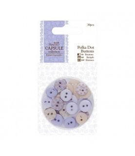 Pack 30 Botones mod French Lavender