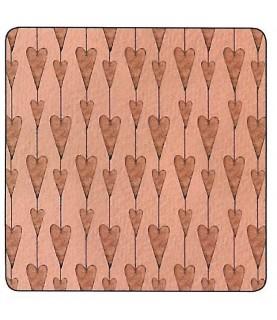 Tela mirabelle corazones rosa