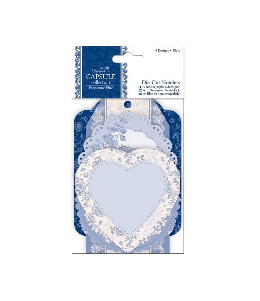 Pack 6 pegatinas Blondas capsule-Parisienne Blue