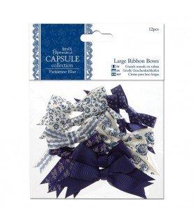 Comprar Pack de 12 lazos mod Parisienne Blue de Conideade