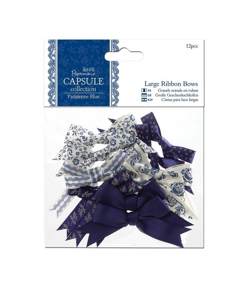 Pack de 12 lazos mod Parisienne Blue