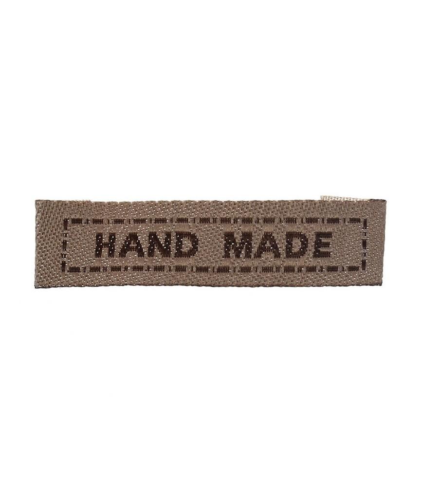 Pack 5 Etiquetas de tela Hand made