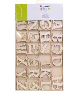 Comprar Pack abecedario completo de madera 6 cm de Conideade