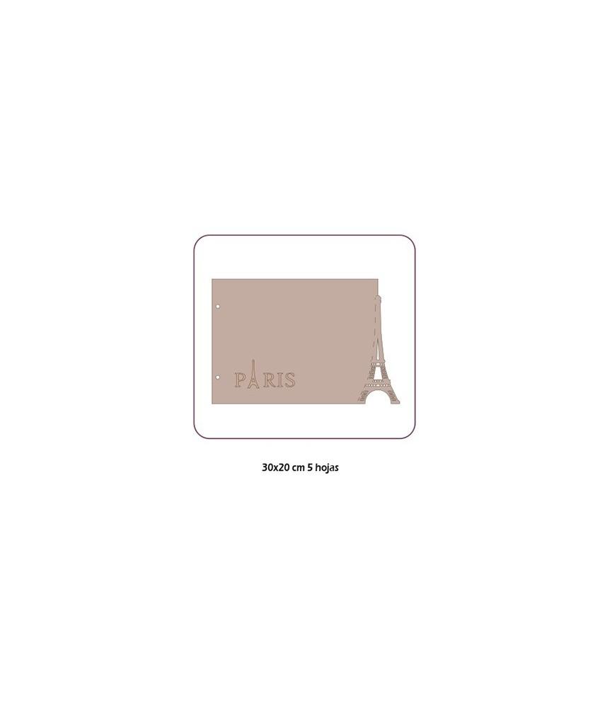 Albúm de cartón Paris 30x20 cm