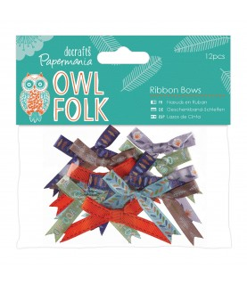 Comprar Pack de 12 lazos mod Owl Folk de Conideade