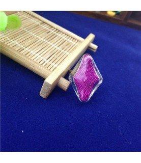 Comprar Set anillo con rombo de cristal 20x28mm de Conideade