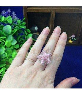 Comprar Set anillo con estrella de cristal de Conideade