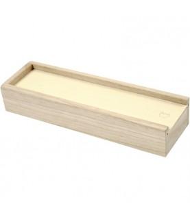 Caja de madera para lapices