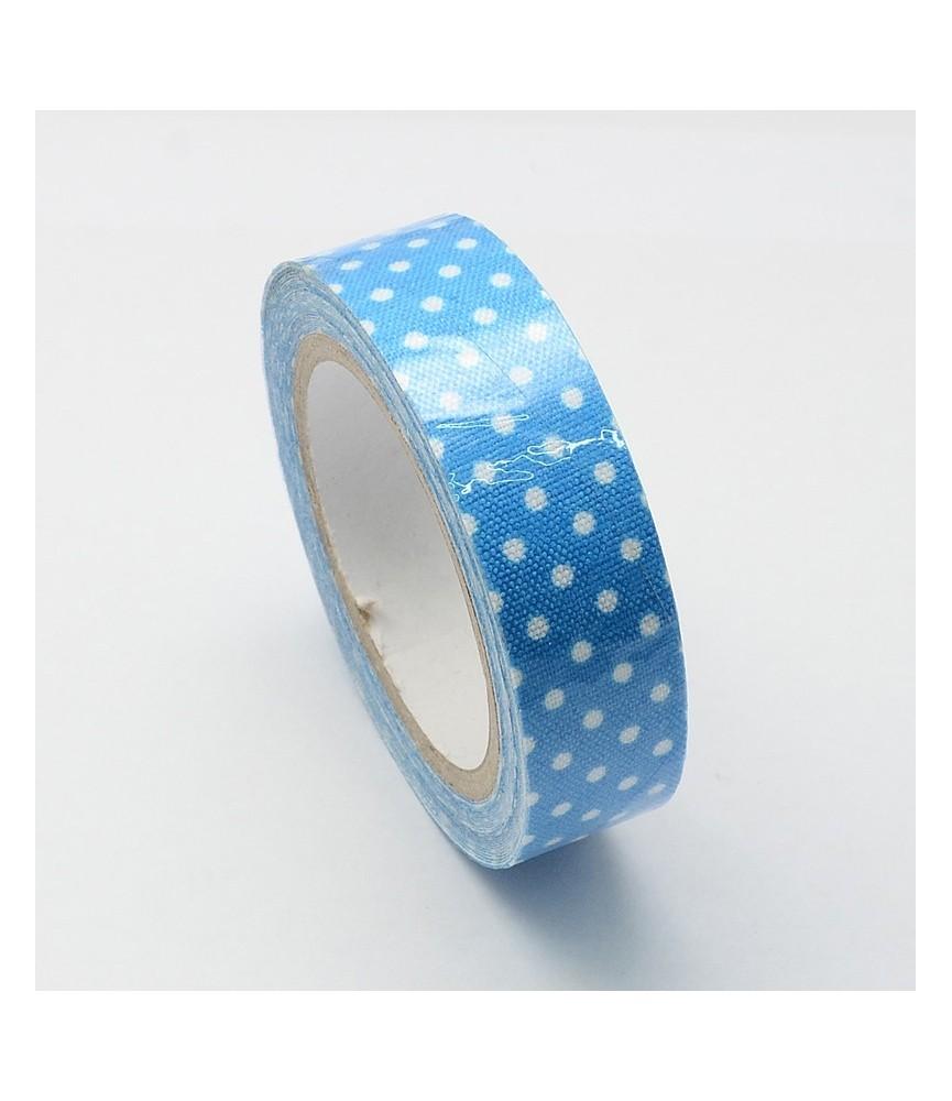 1 Rollo de Fabric Tape de topos