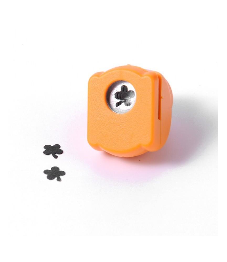 """Mini perforadora de figuras """"trebol"""""""
