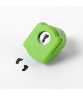 "Mini perforadora de figuras ""pie"""