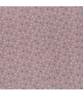 Tela algodón pocketful of daisies rosa (03)