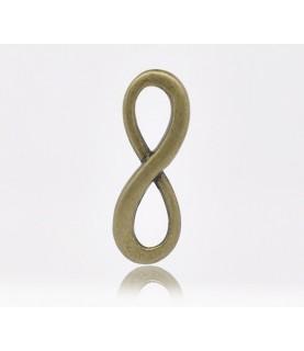 Comprar Charm simbolo infinito bronce de Conideade