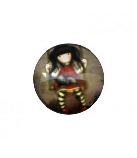 Cabuchon muñeca 25 mm mod 46