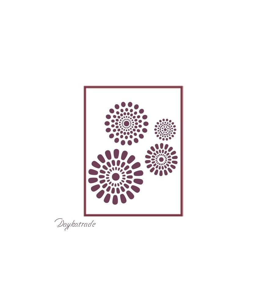 plantilla stencil DIN-A4 Mod 3123