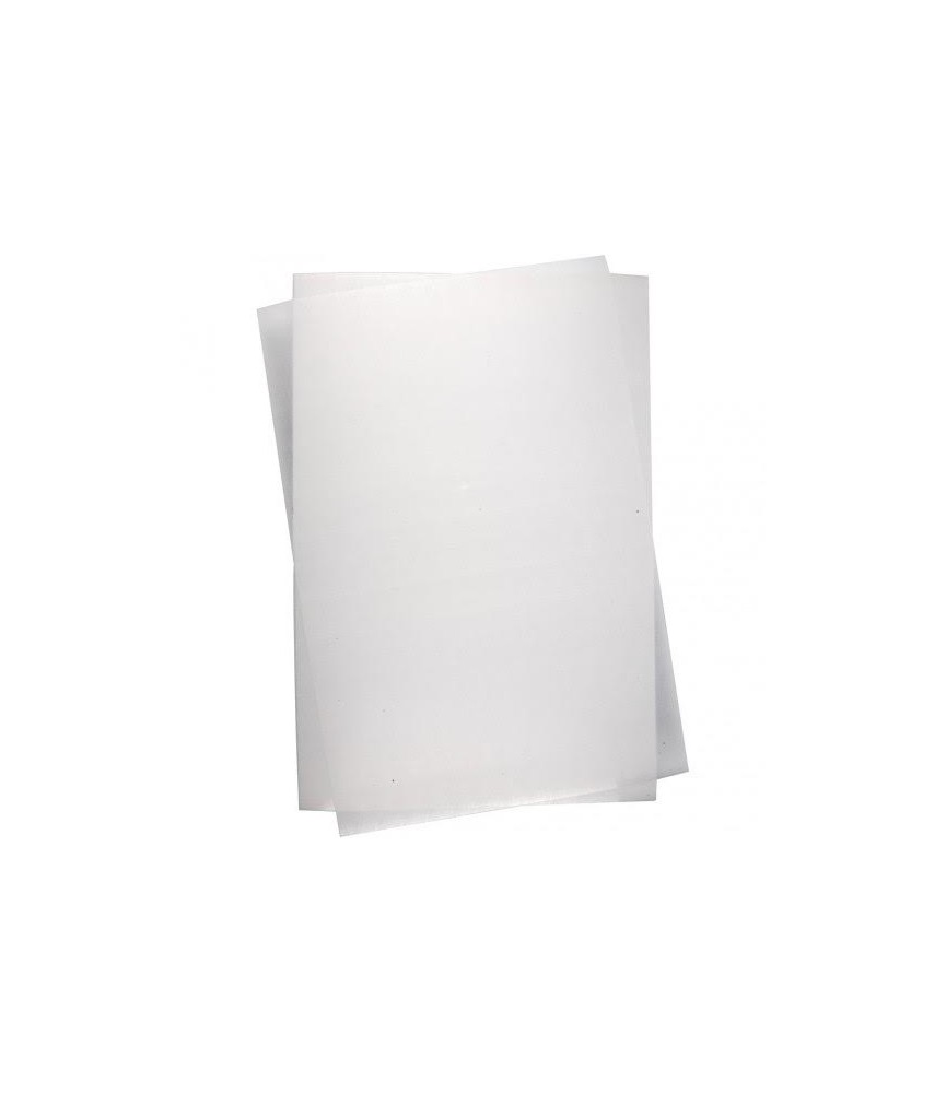 Lámina de plástico mágico frosted