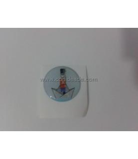 Cabuchon adhesivo 25mm El soldadito de plomo