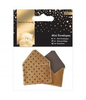 Pack 10 minisobres dorados
