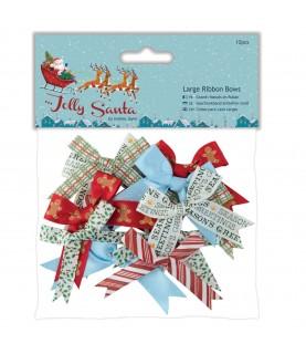 Bolsa de 12 lazos de Jolly Santa