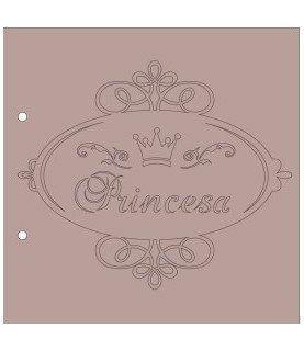 Comprar Albúm cartón Princesa 20x20 cm