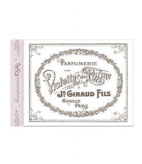 Comprar Imagen para transferir mod parfumerie A5 de Conideade