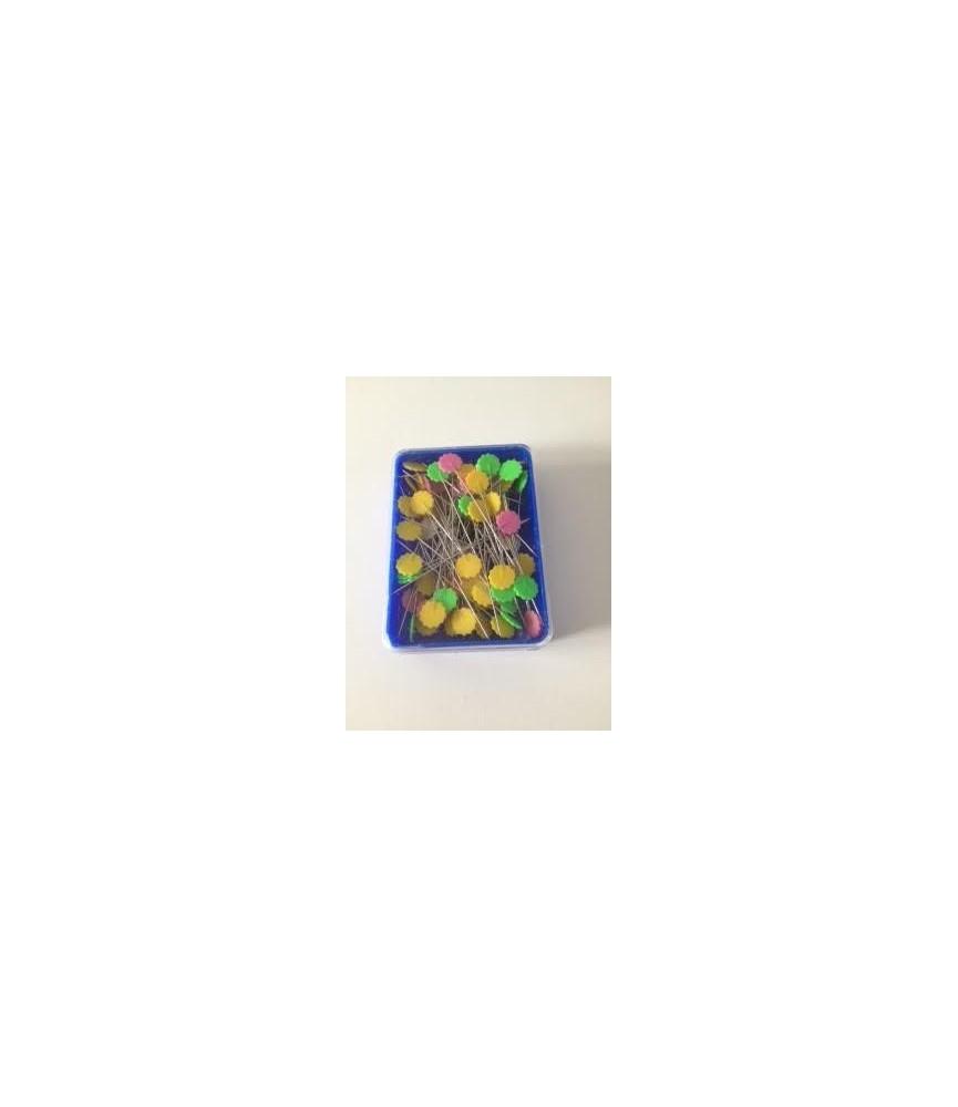Alfiler flor para patchwork 100 ud