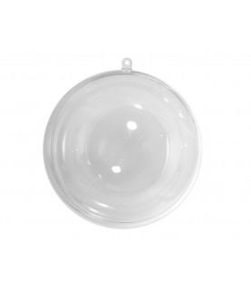 Colgante  bola plástico 10 cm
