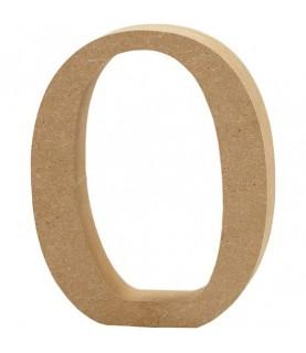 Números de madera 13 cm