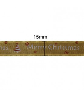 Rollo de 1 m cinta adhesiva Merry Christmas