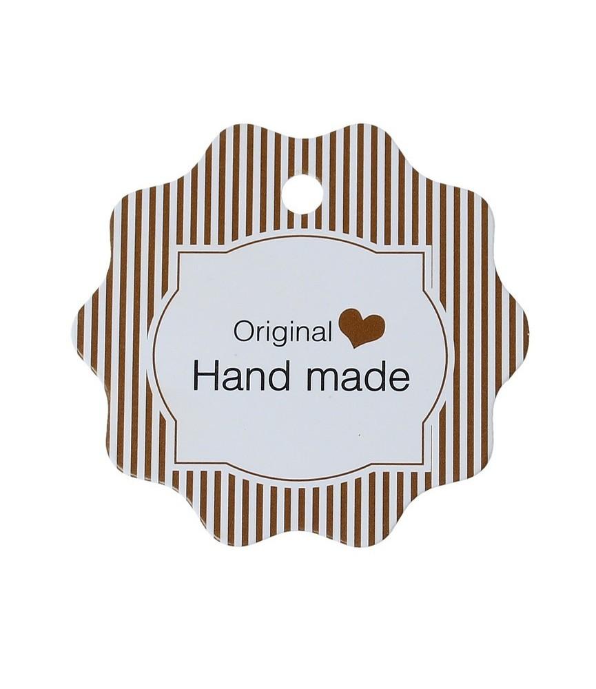 Pack 10 Etiquetas Hand made