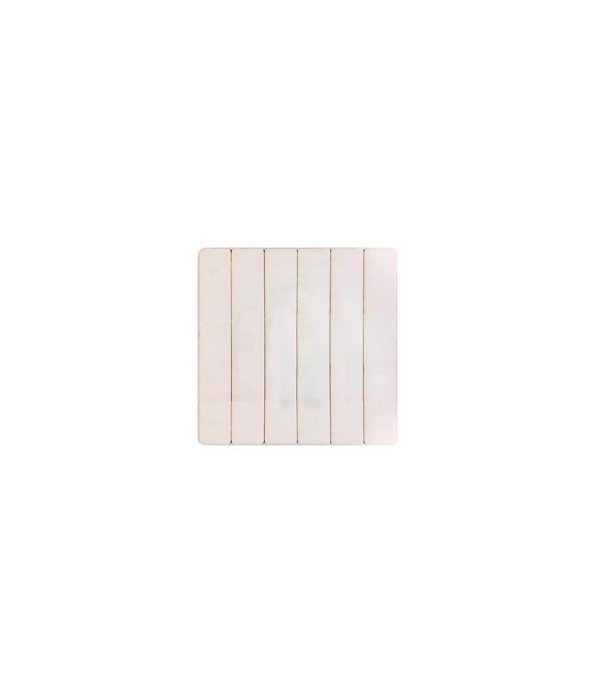 Tabla de chopo efecto madera 39x39 cm