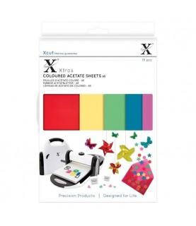Comprar 15 láminas de acetato de colores A5 de Conideade