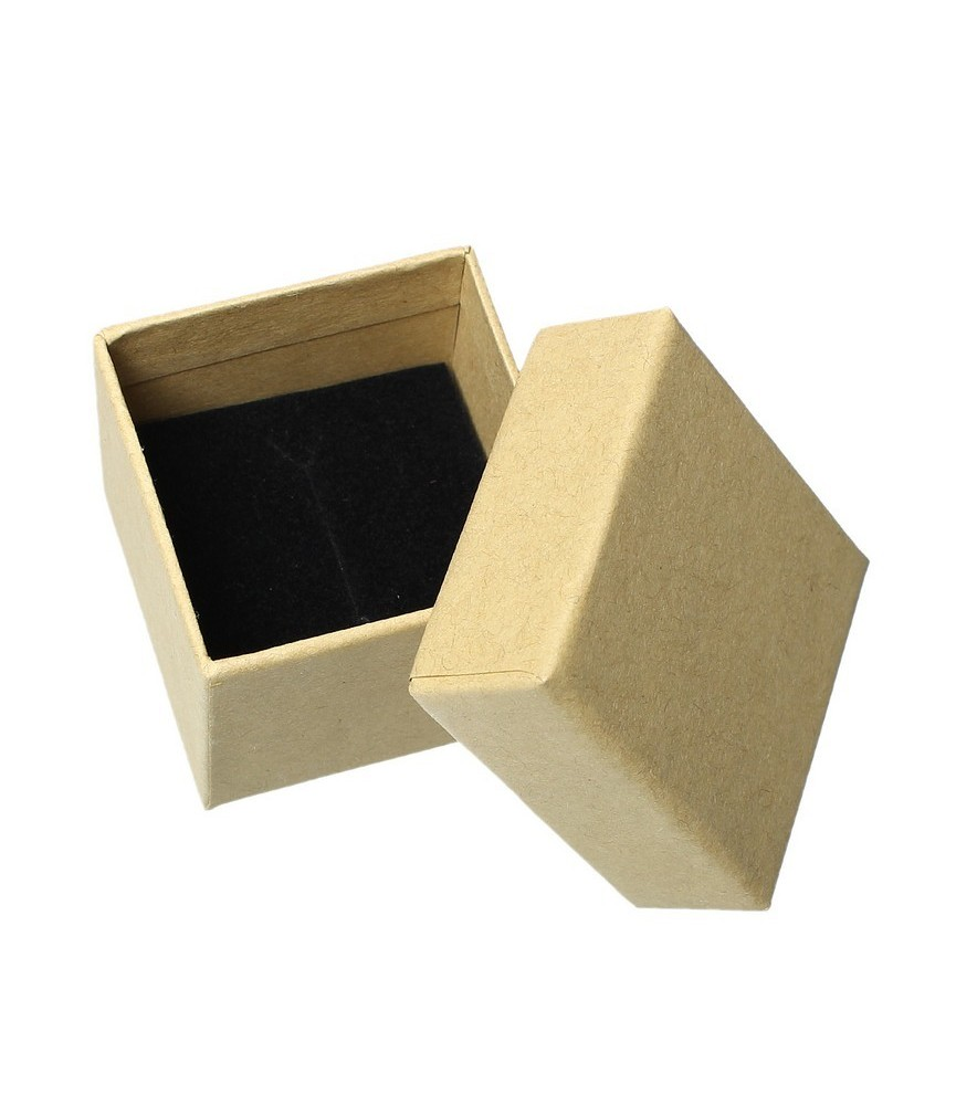 Caja craft para anillos