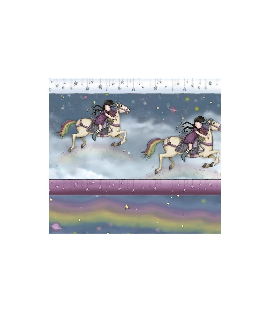 Cenefa gorjuss rainbow dreams