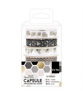 Comprar Pack 6 cinta mod geometric mono