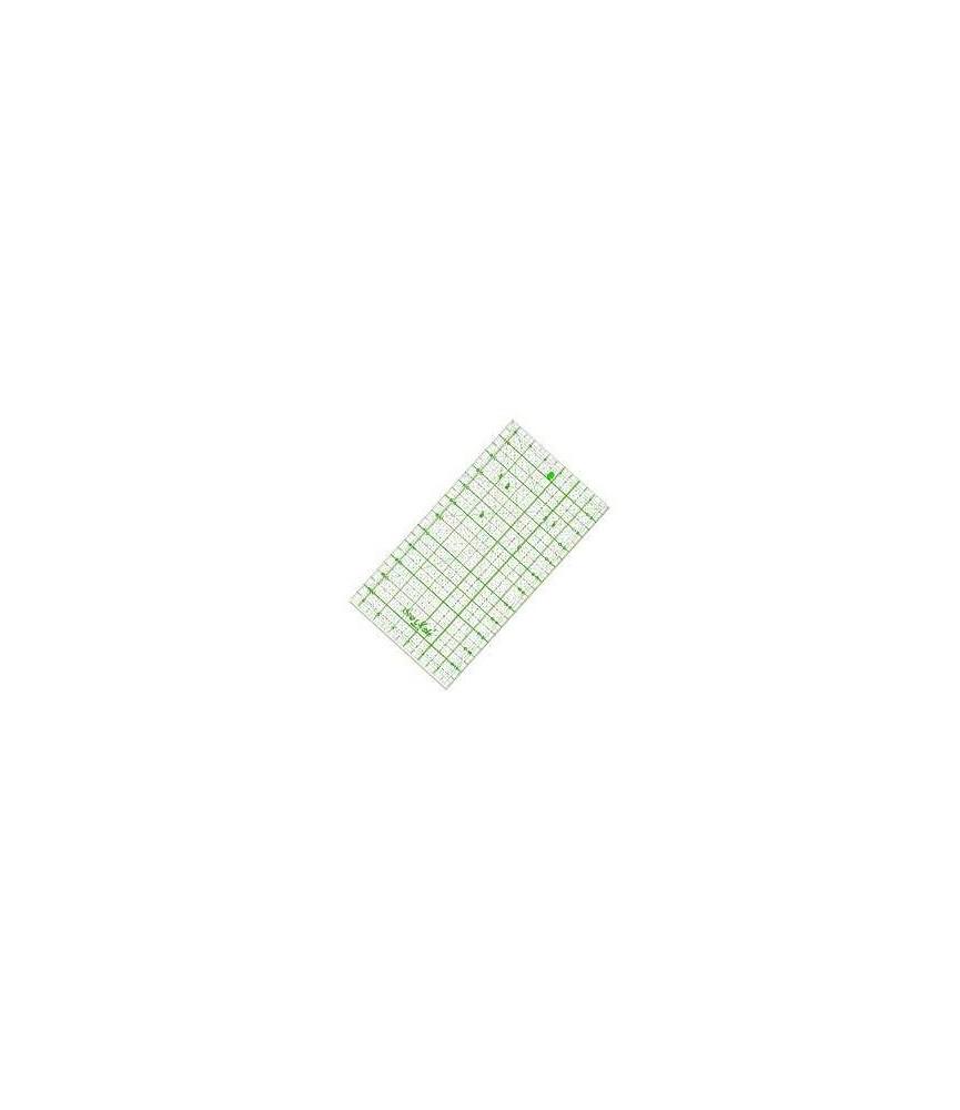 Regla universal patchwork 30x16 cm