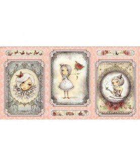 """Panel mirabelle """"la vie en rose"""" rosa"""