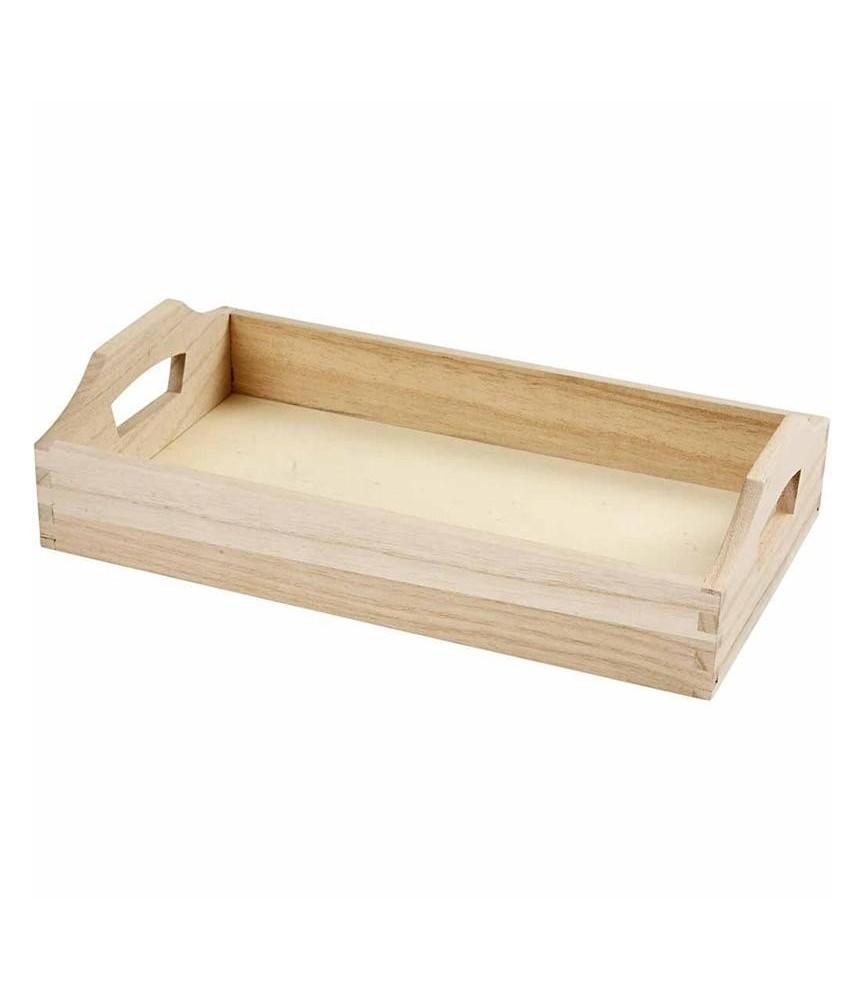 Bandeja rectangular 30x17x5 cm