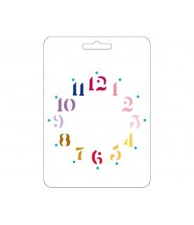 Comprar Plantilla reloj 15x21cm de Conideade