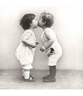 Comprar Servilleta Vintage kissing babies 33x33cm de Conideade