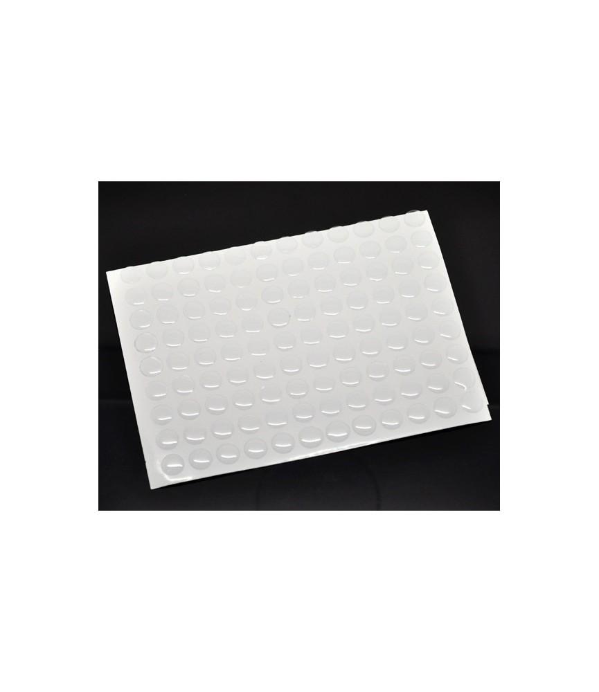 Pack 12 Cabuchon adhesivo redondo 12 mm