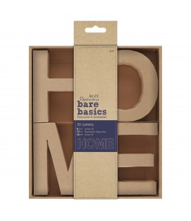 Palabra de carton 3D HOME, para decoración y manualidades